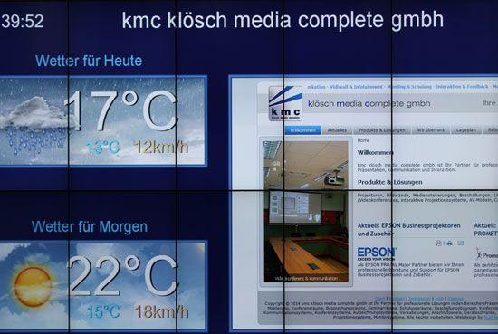 Videowall T Mobile Austria GmbH