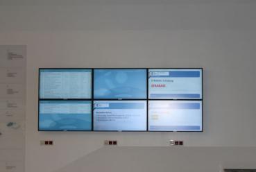 Navigate to Infoscreens FH Campus Wien (Leit- und Informationssystem)